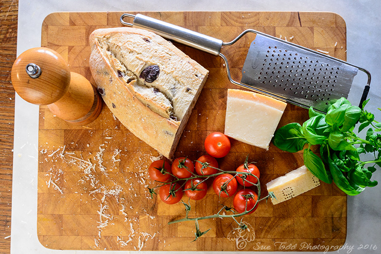 Some key ingredients to a good tomato soup. © Sue Todd Photography 2016