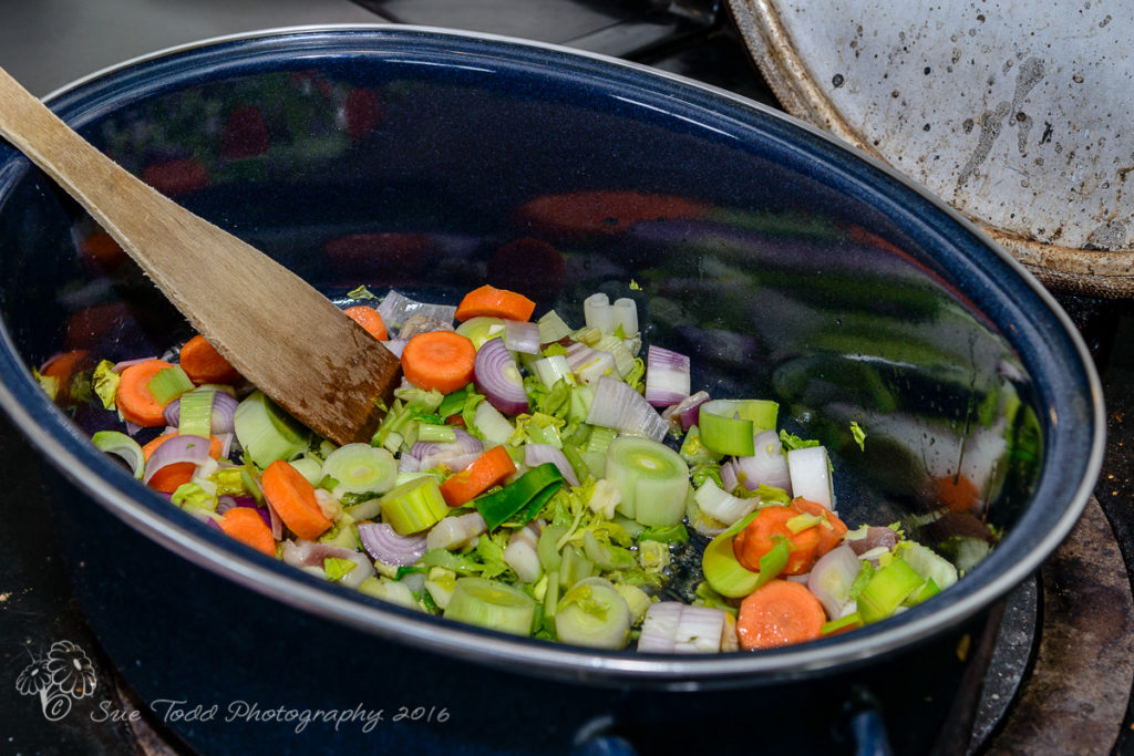 Vegetables for Beef Bone Broth. © Sue Todd Photography 2016